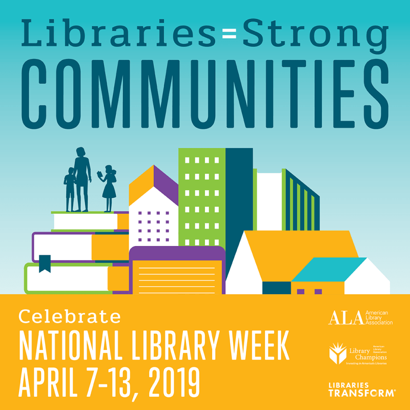 national library week flyer