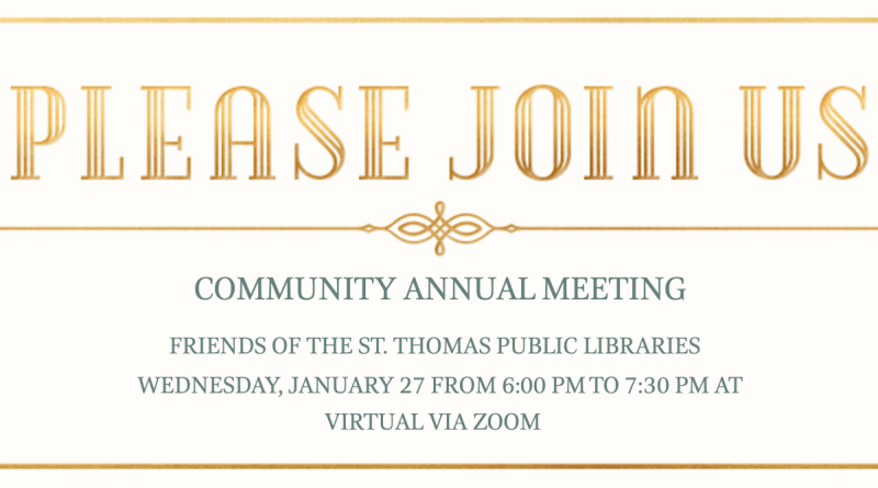 2021 Annual Meeting Invitation Card