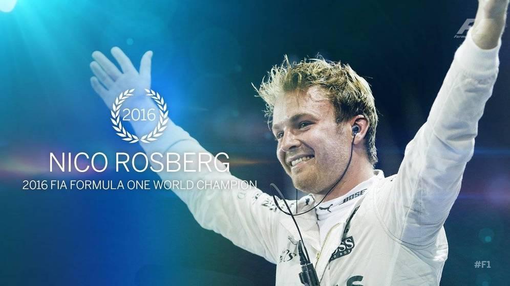 Nico Rosberg campeón del mundo de F1 por primera vez