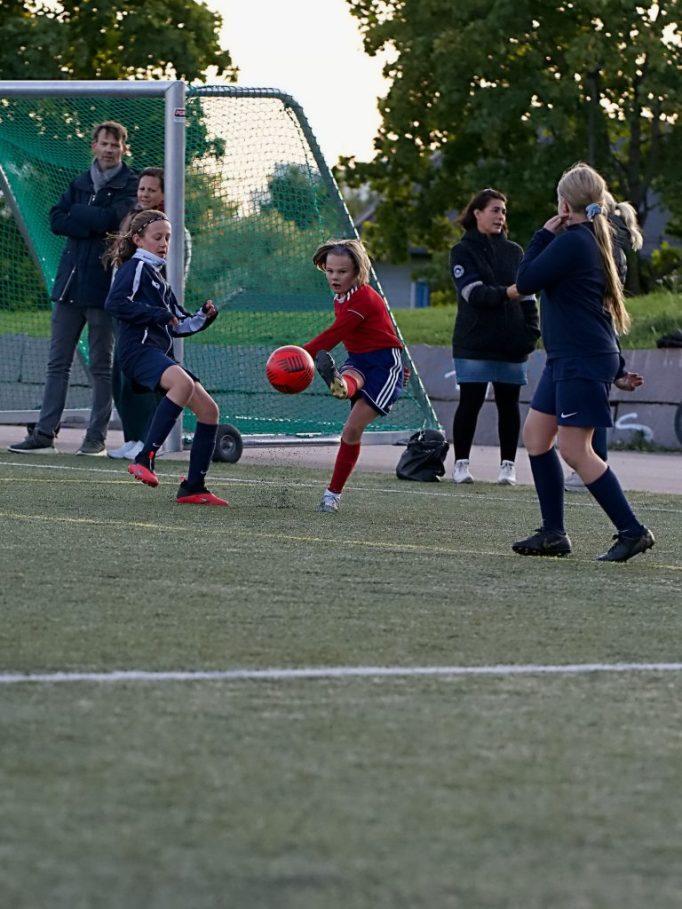 Bilde av fotballspillere i Hasle-Løren.