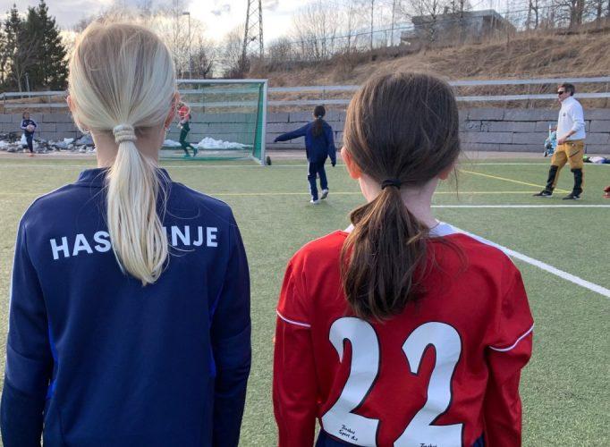 Bilde av Hasle-Løren J2011 som trener