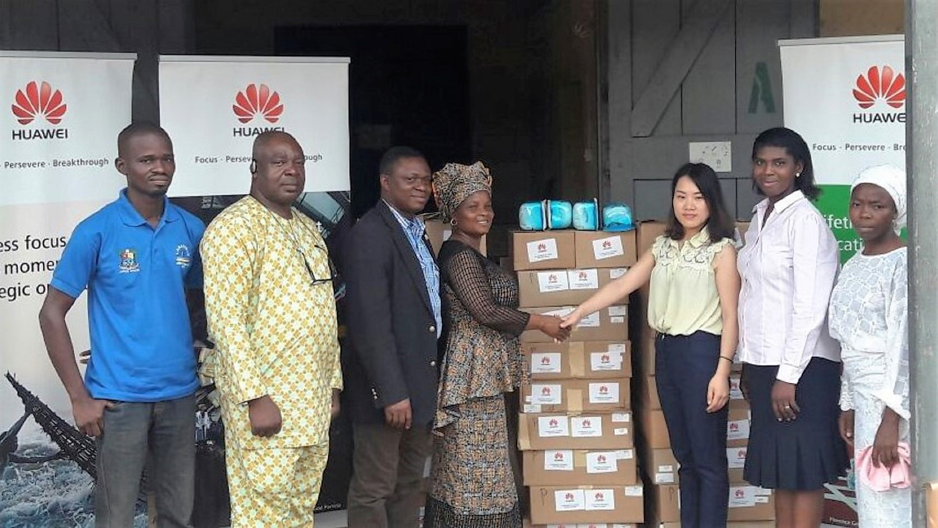 Huawei Donates 1st Aid Kits, Umbi Cut Kits To Lagos State Ministry of Health
