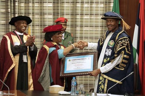 President Buhari & The Nigerian Academy of Engineering