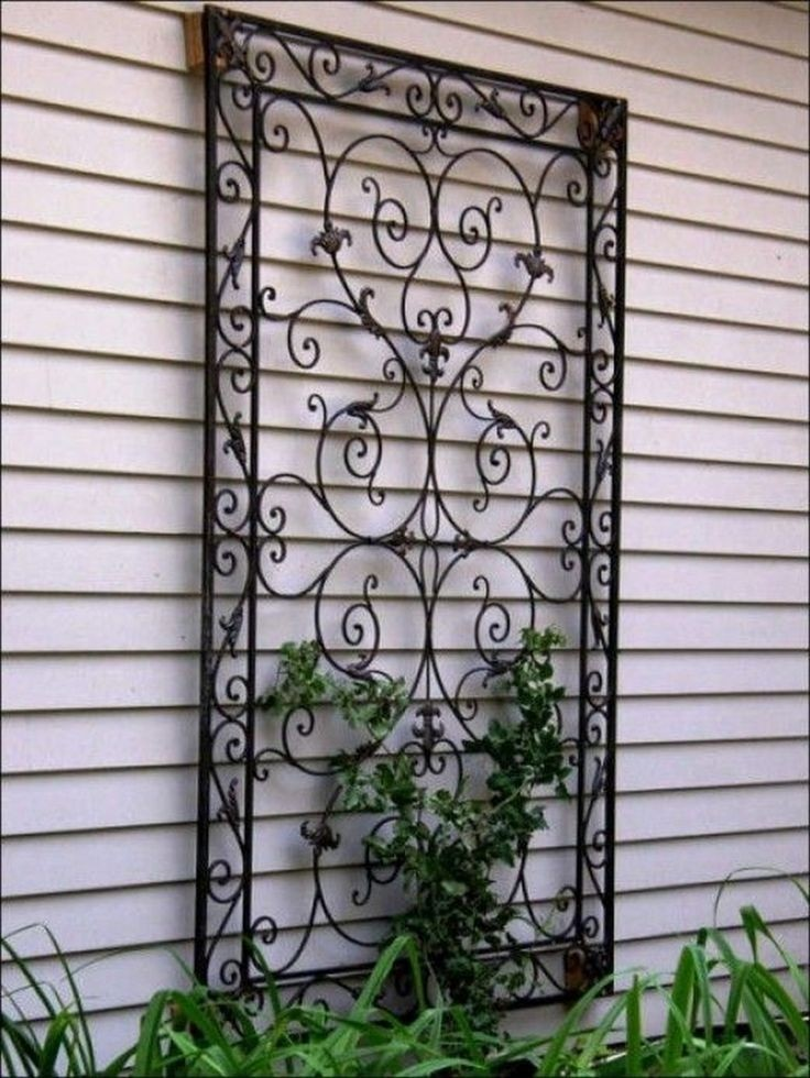 Exterior House Wall Decorations - Foter on Backyard Wall Decor Ideas  id=62057