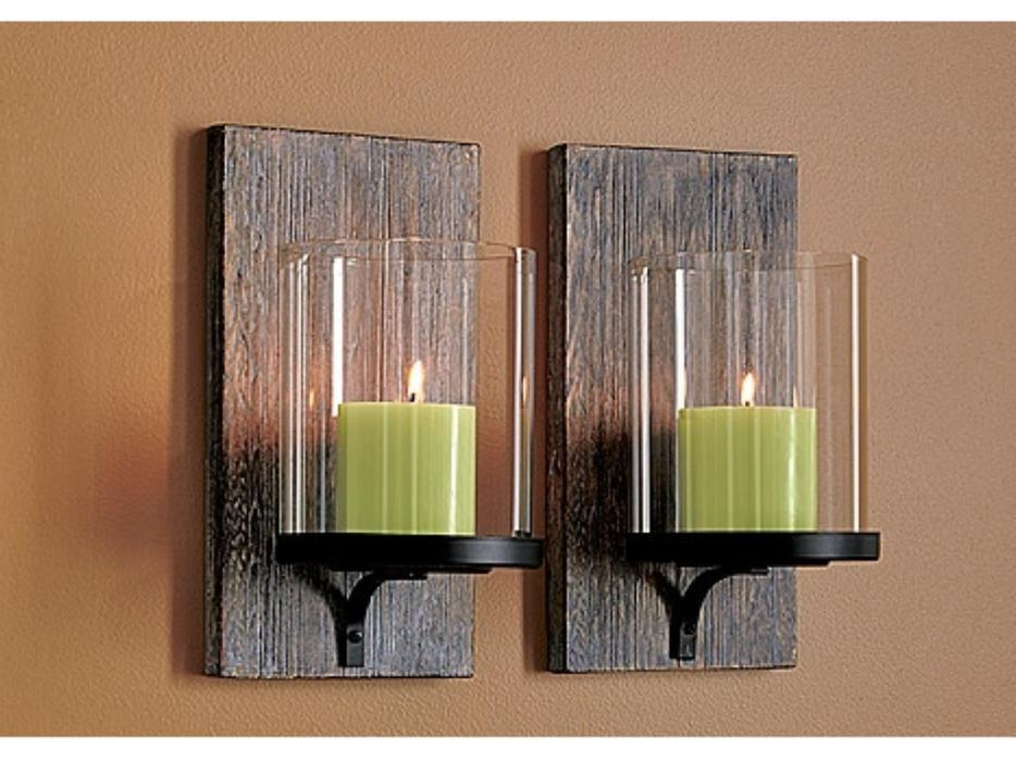 Modern Wall Candle Holder - Foter on Large Wall Sconces Candle Holders Decorative id=13981