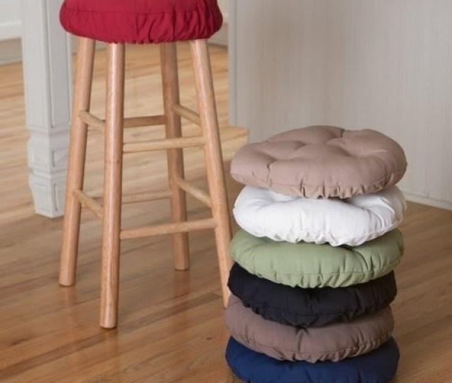 Deauville  Backless Bar Stool Seat Cushion