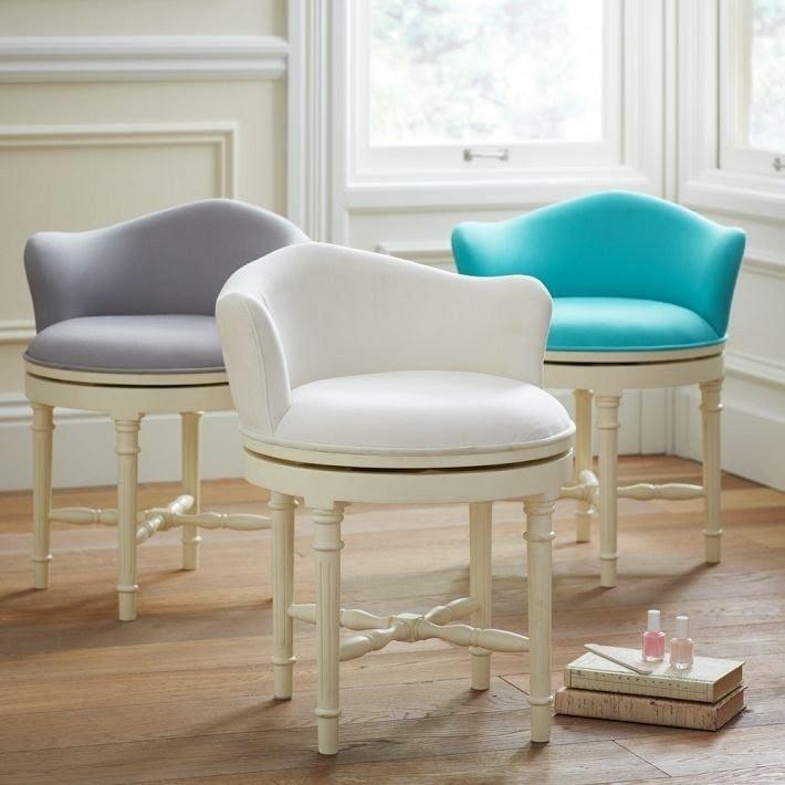 vanity swivel chair ideas on foter