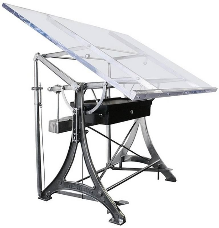 glass drafting tables ideas on foter