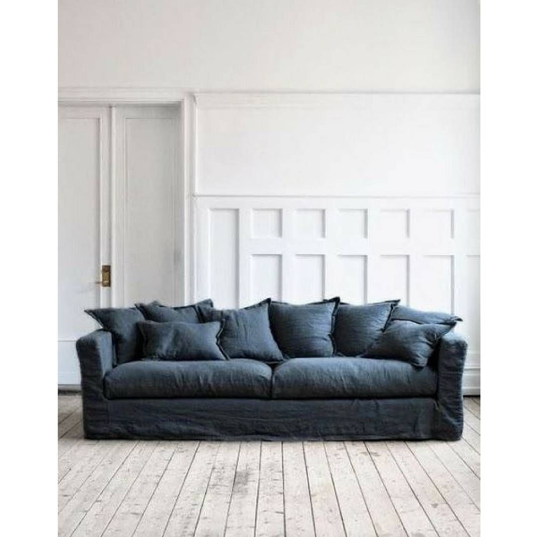 blue jean couch