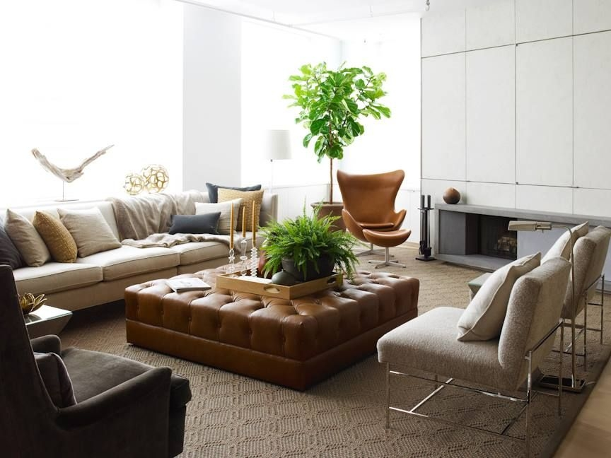 large leather ottomans ideas on foter