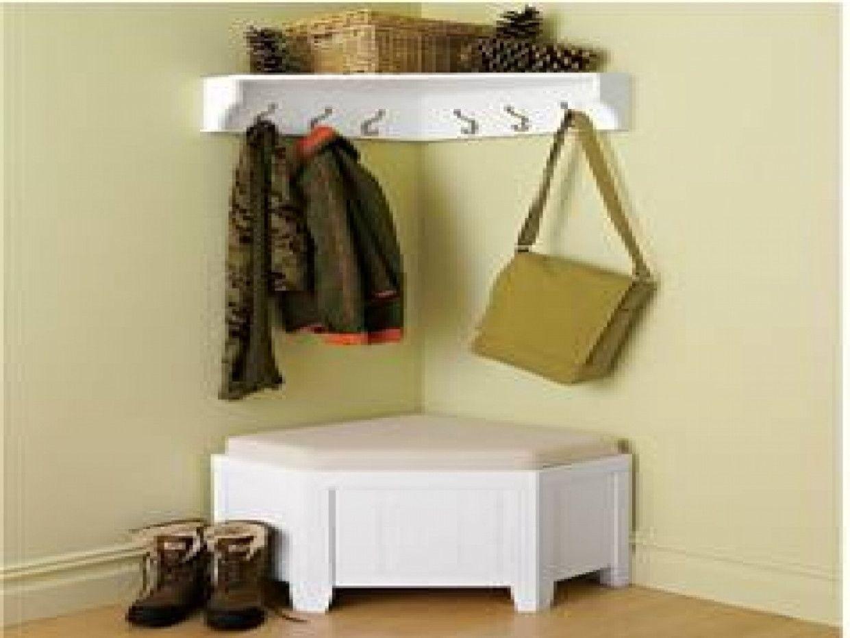 corner coat rack and bench ideas on foter