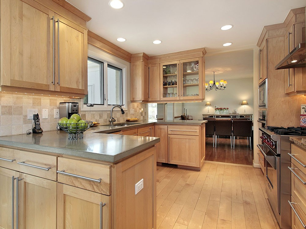 Maple Cabinets - Foter on Kitchen Backsplash Ideas With Maple Cabinets  id=77077