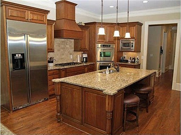 Maple Cabinets - Foter on Countertop Colors For Maple Cabinets  id=65596