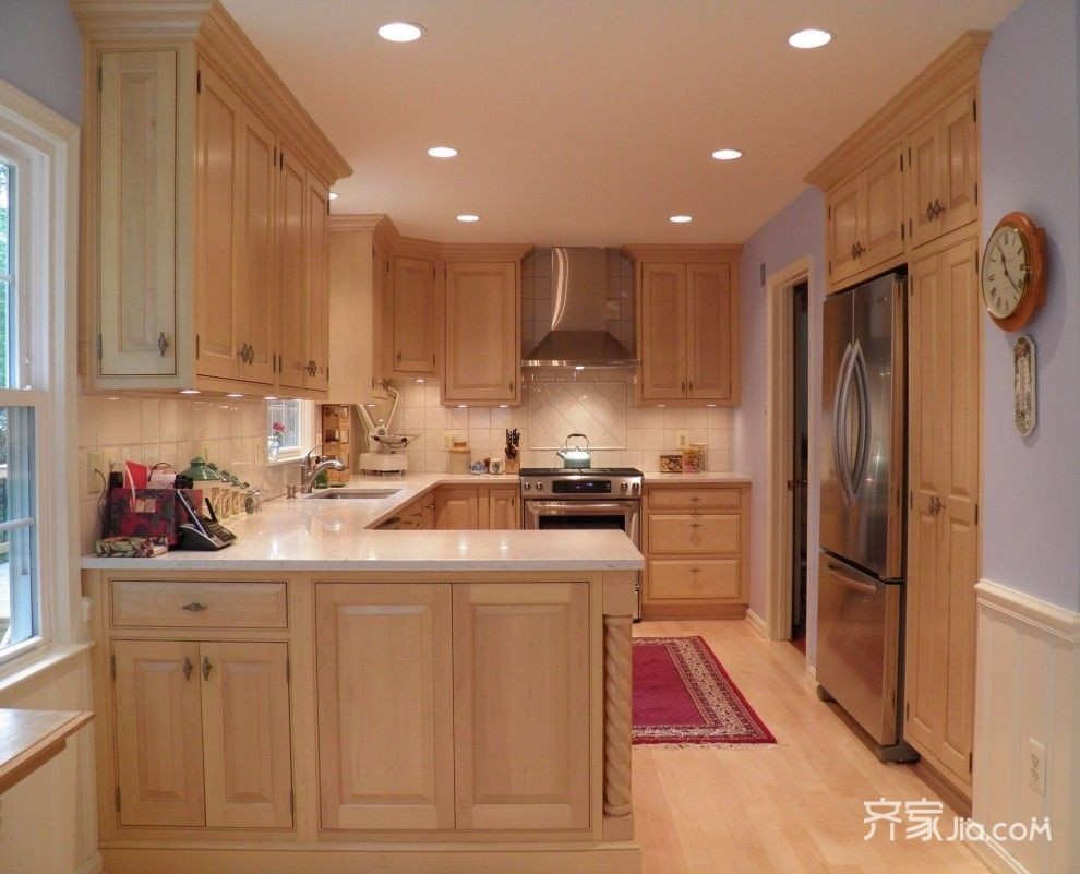 Maple Cabinets - Foter on Kitchen Countertops With Maple Cabinets  id=17671