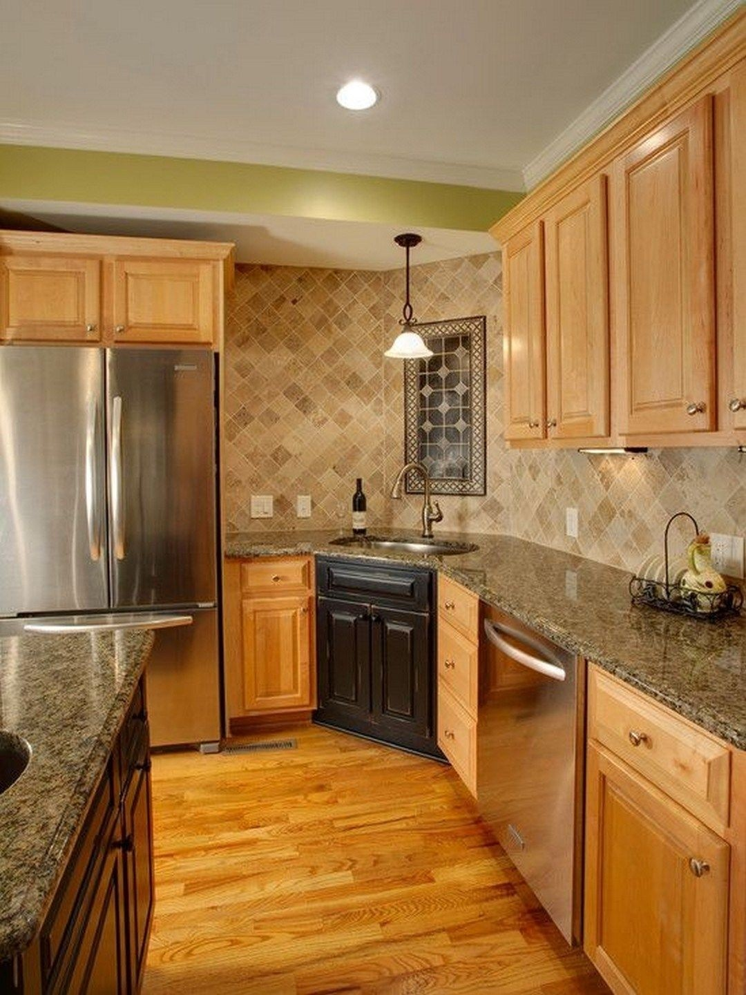 Maple Cabinets - Foter on What Color Backsplash With Maple Cabinets  id=19705