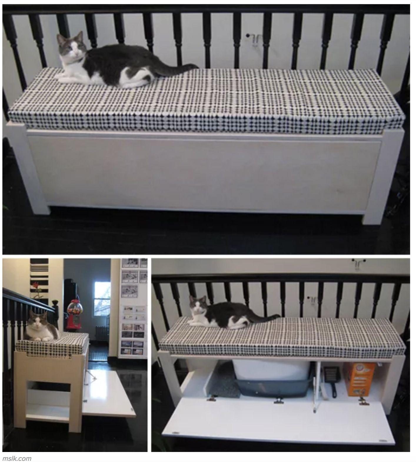Cat Litter Box Bench Ideas On Foter