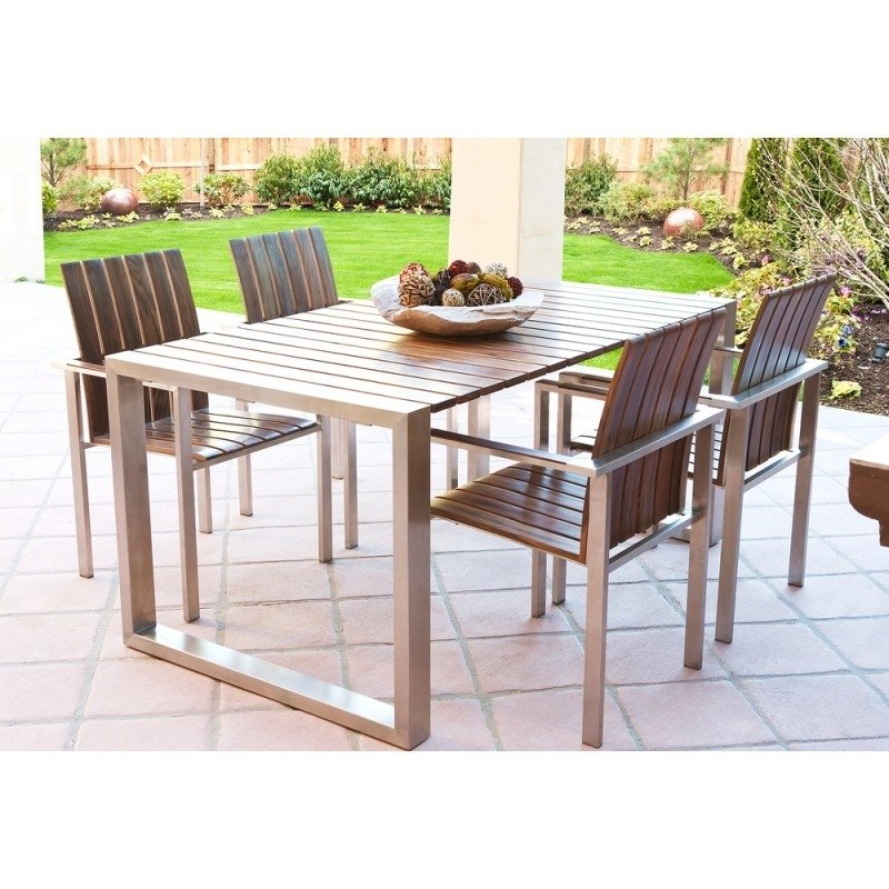 stainless steel patio furniture sets