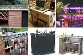 Outside Portable Bar - Foter on Portable Backyard Bar id=14353