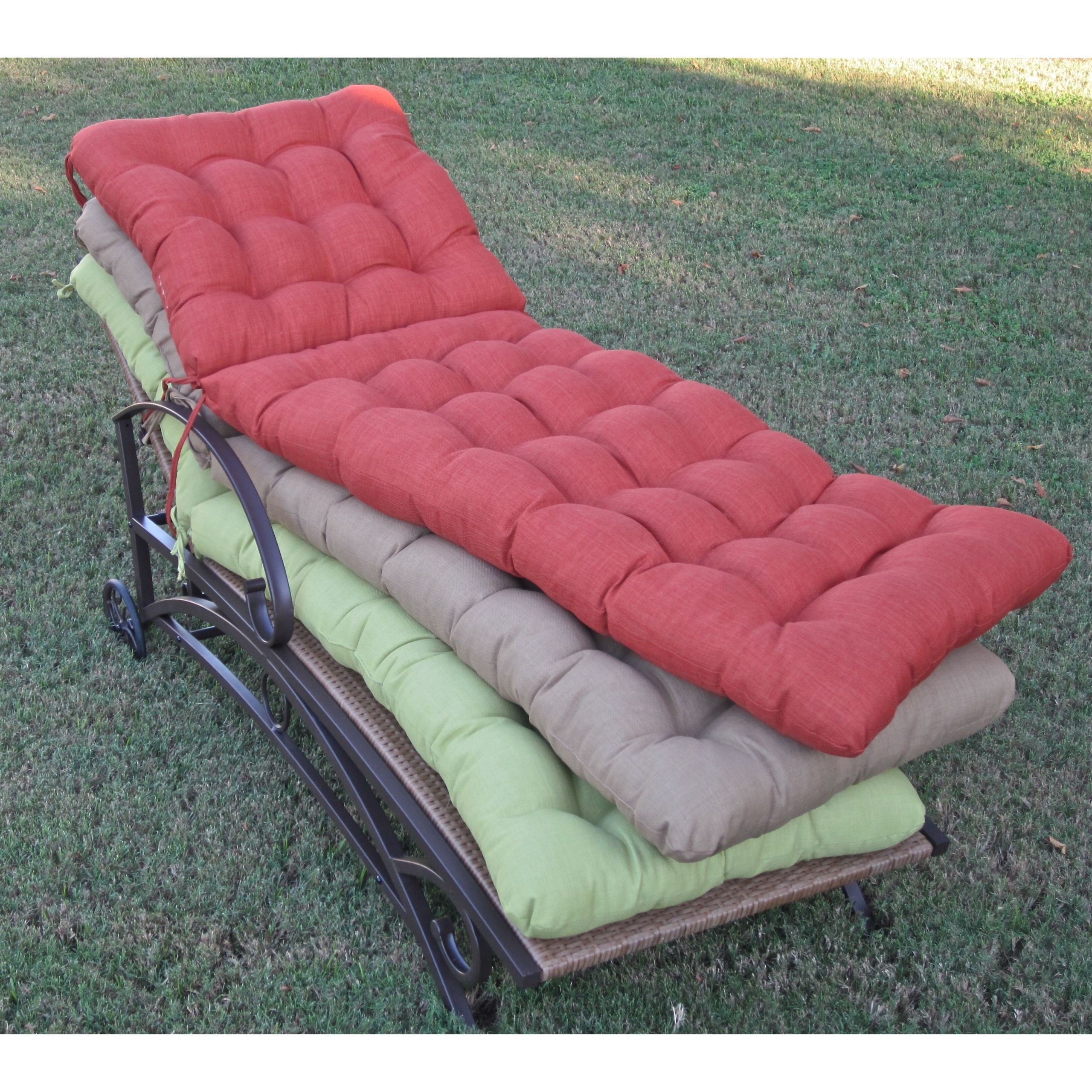 oversized chaise lounge cushions