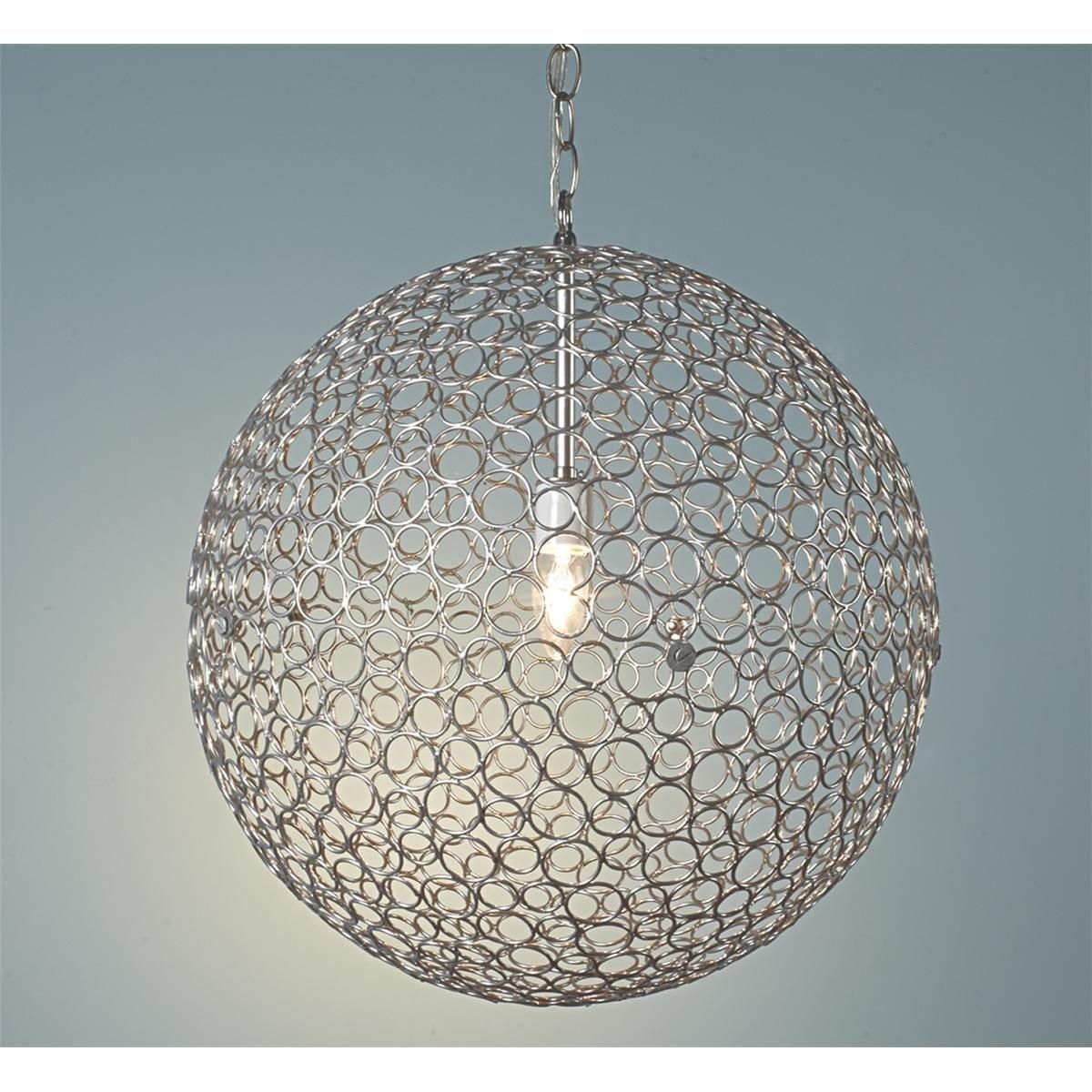 Large Globe Pendant Light Foter