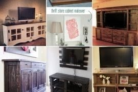Barn Cabinets Pottery Tv