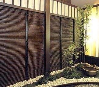 bamboo garden privacy screen Outdoor Bamboo Panels - Foter