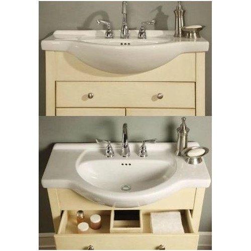 windsor 30 narrow depth bathroom vanity base
