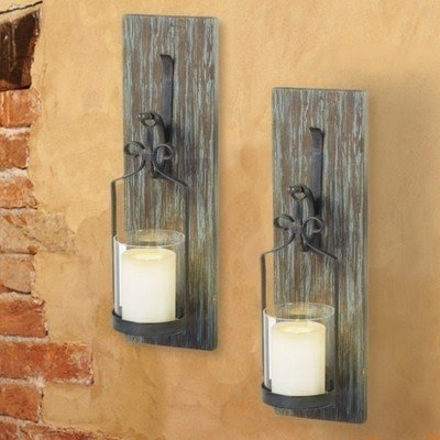 Hurricane Candle Sconces Wall - Foter on Hobby Lobby Wall Candle Sconces Wall Candle Holders id=95438