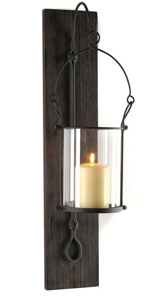 Hurricane Candle Sconces Wall - Foter on Wall Mounted Candle Sconce id=70199