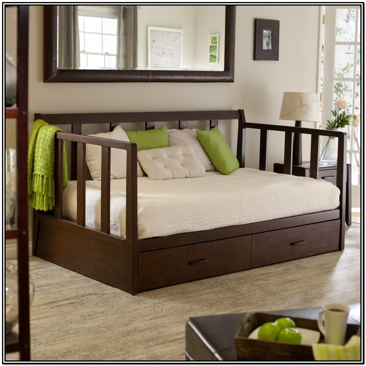 modern daybeds with trundle ideas on