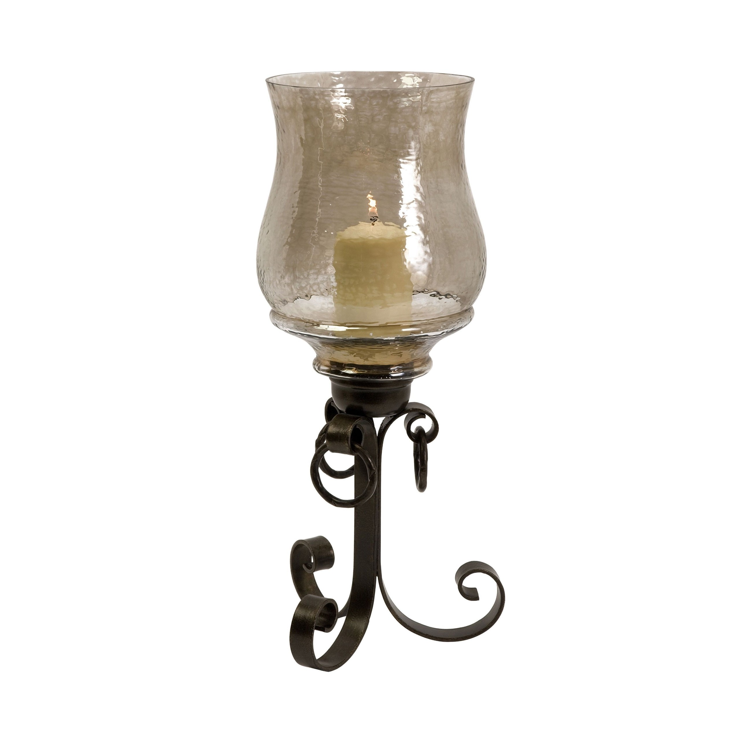 Wrought Iron Hurricane Candle Holders - Foter on Candle Globes Hobby Lobby id=66615