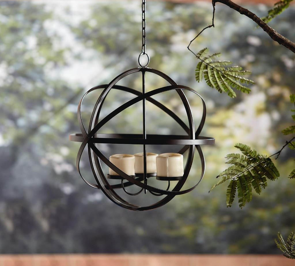 Wrought Iron Hanging Candle Holders - Foter on Antique Wrought Iron Wall Candle Holders id=61679