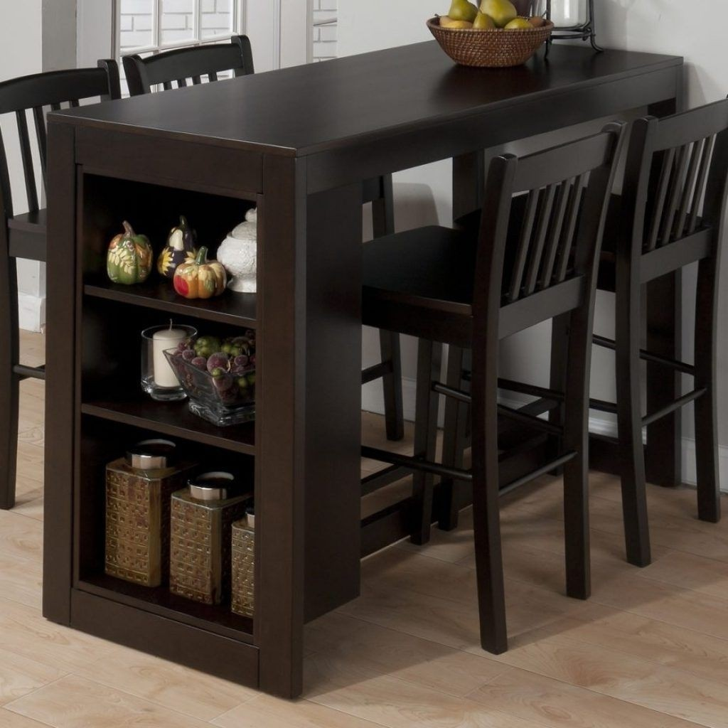 counter height storage dining table Counter Height Table Sets With Storage - Foter