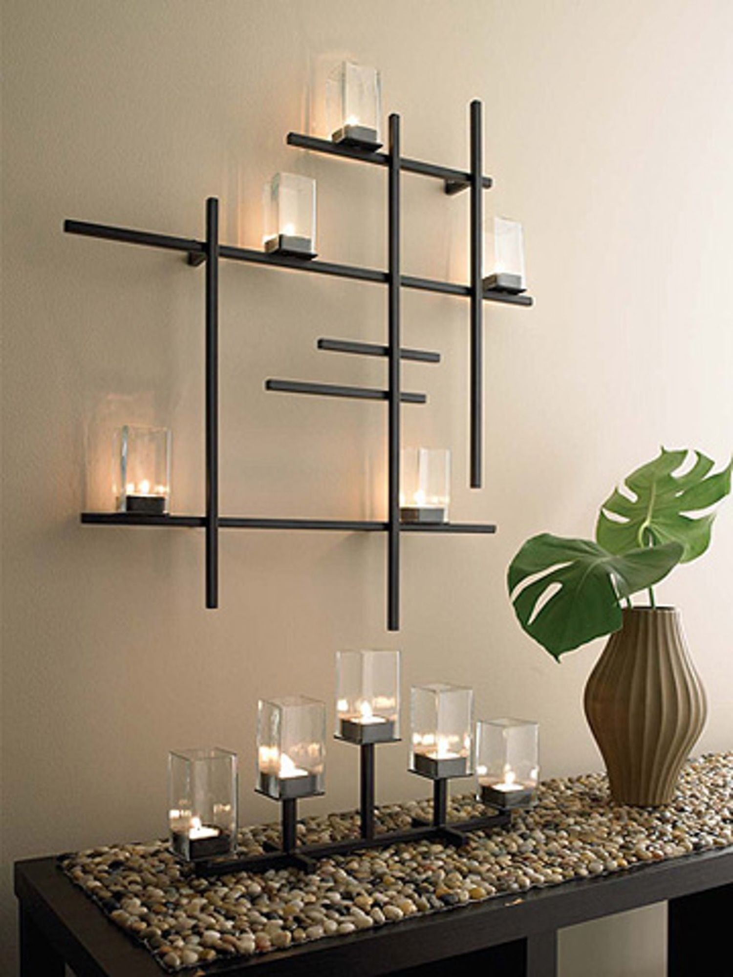 Modern Wall Candle Holder - Ideas on Foter on Metal Candle Holders For Wall id=79697