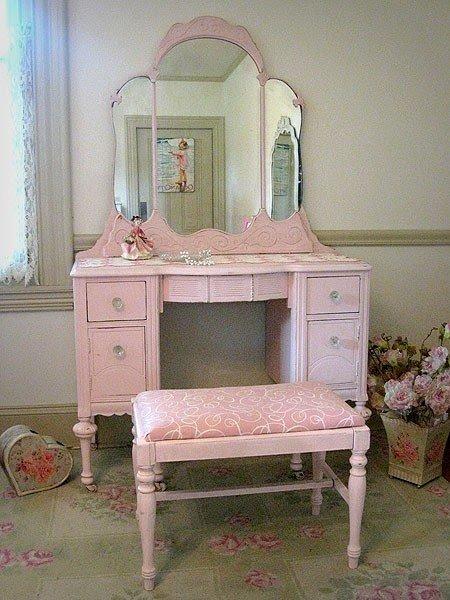 Pink Vanity Set Foter