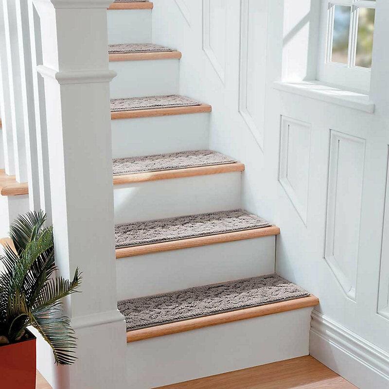 Stair Treads Carpet Non Slip Ideas On Foter   Non Slip Stair Treads For Carpeted Stairs   Walmart   Skid Resistant   Basement Stairs   Indoor Stair   Slip Resistant