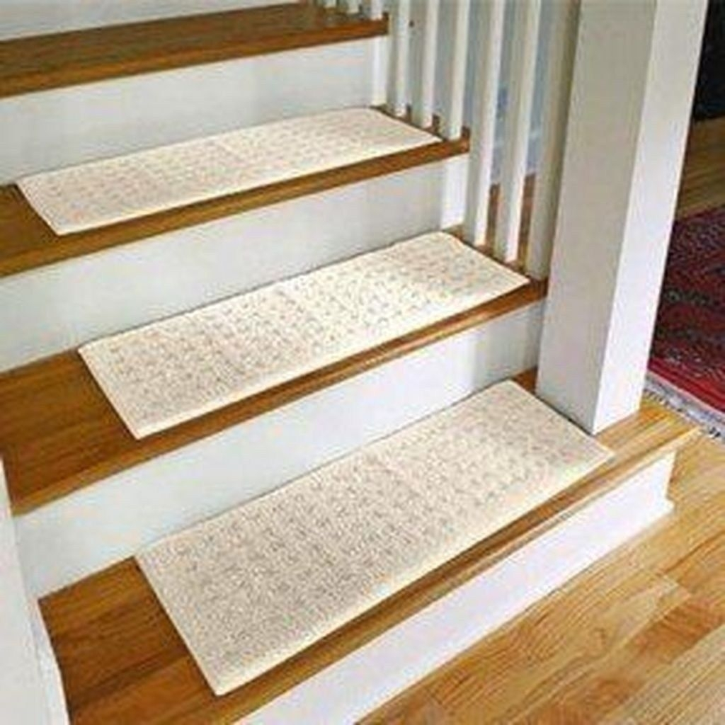 Carpet Treads For Wood Stairs Ideas On Foter | Carpet For Garage Stairs | Concrete | Stair Riser | Concrete Stairs | Stair Runner | Garage Floor