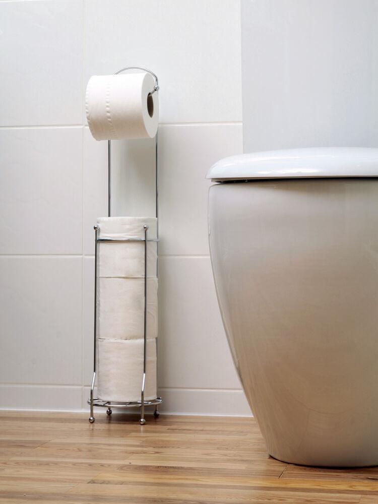 modern free standing toilet paper