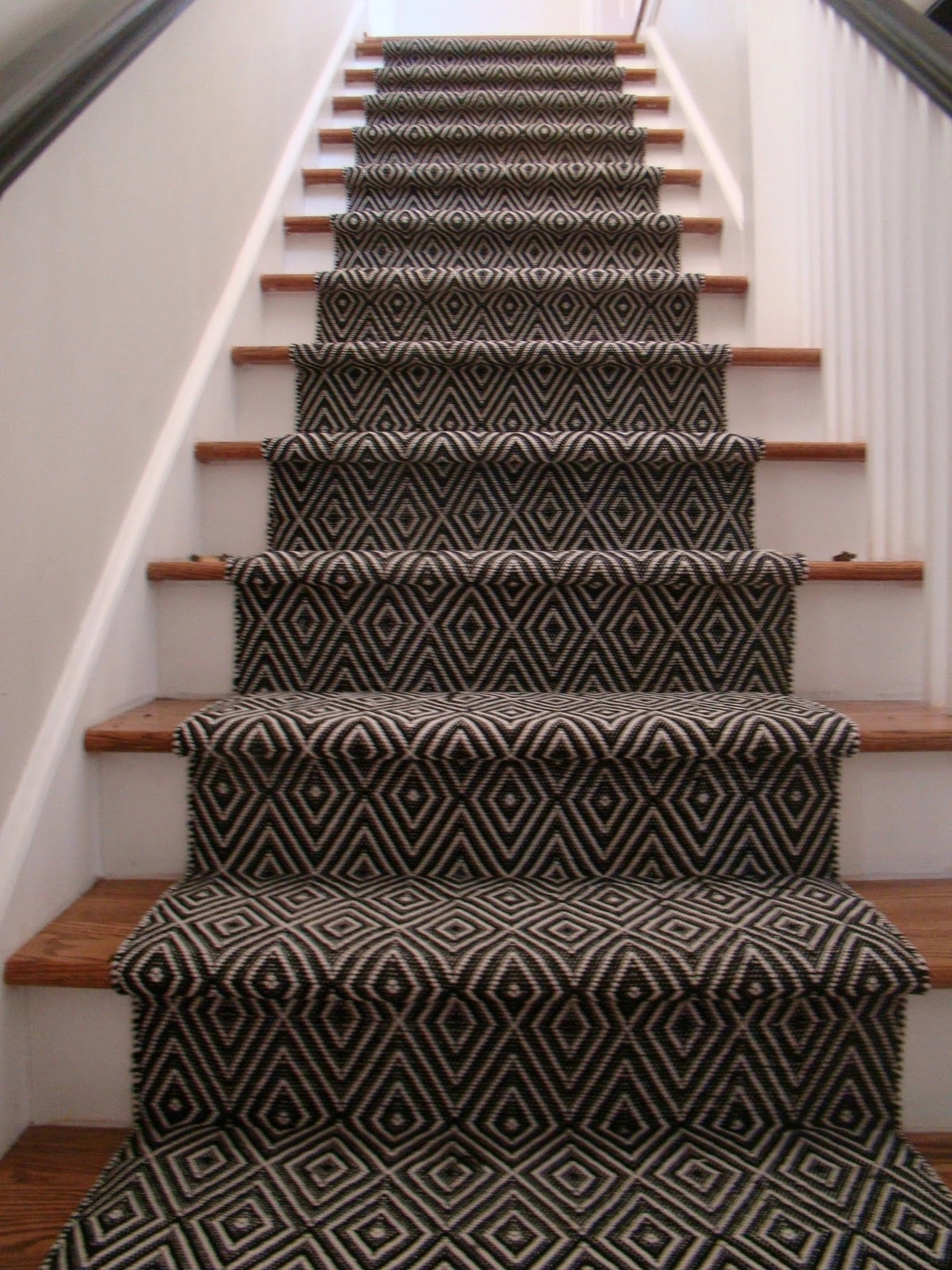 Carpet Treads For Wood Stairs Ideas On Foter | Carpet For Wooden Stairs | Search And Rescue | Bedroom | Carpeted Stair Railing Wooden Floor | Transition | Beautiful