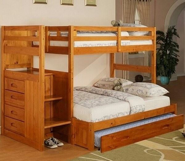 Bunk Beds With Full Bed On Bottom Foter