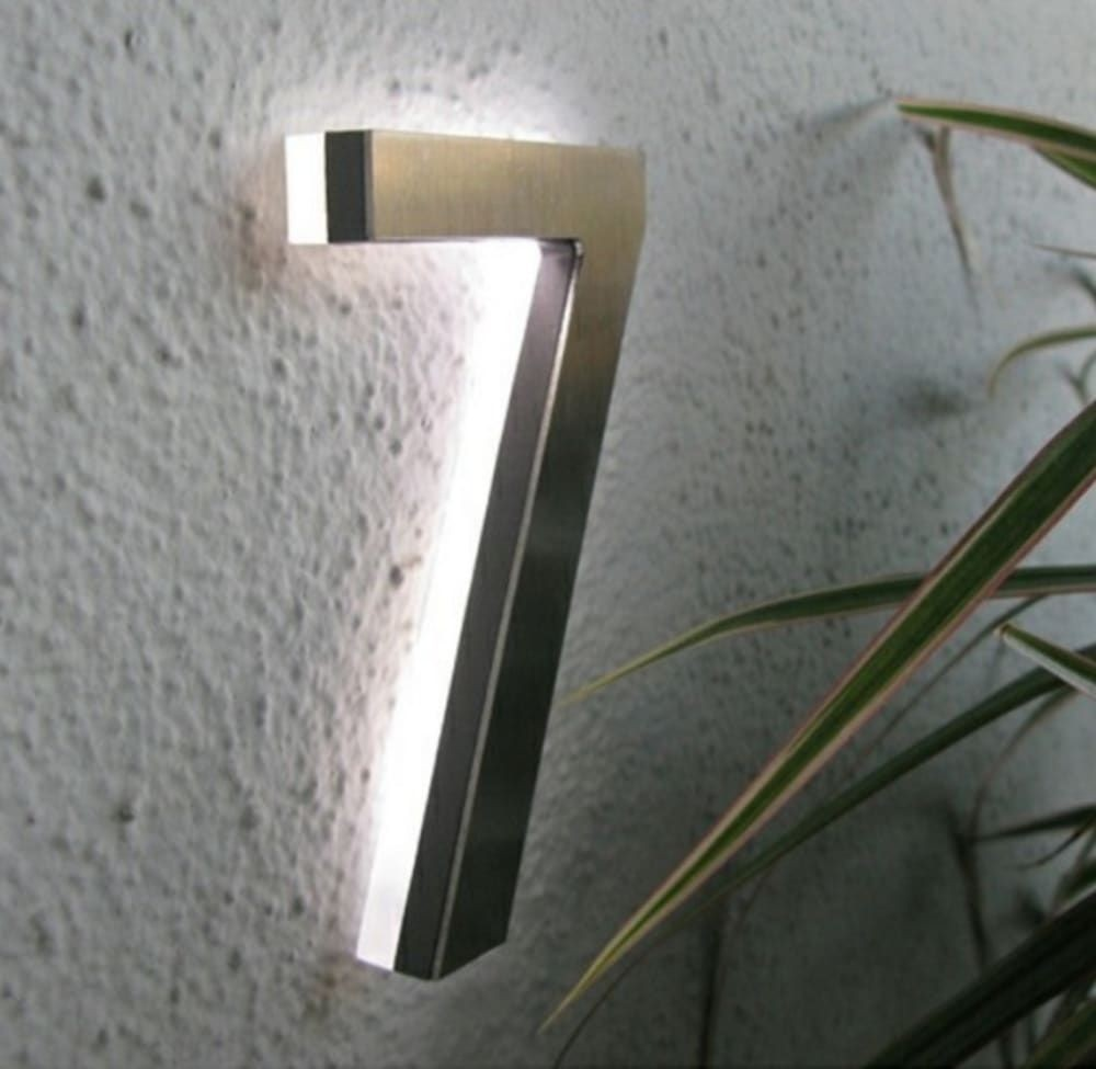 Light Up House Numbers   Foter