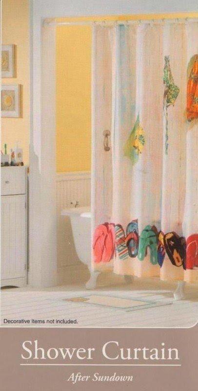 flip flop shower curtain ideas on foter