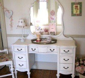 White Makeup Vanities - Foter on Makeup Bedroom  id=53345