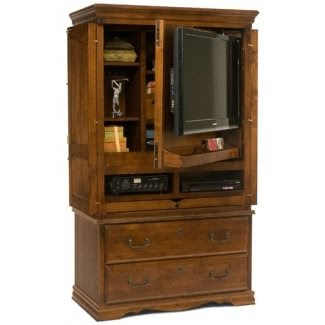 tv armoire with doors