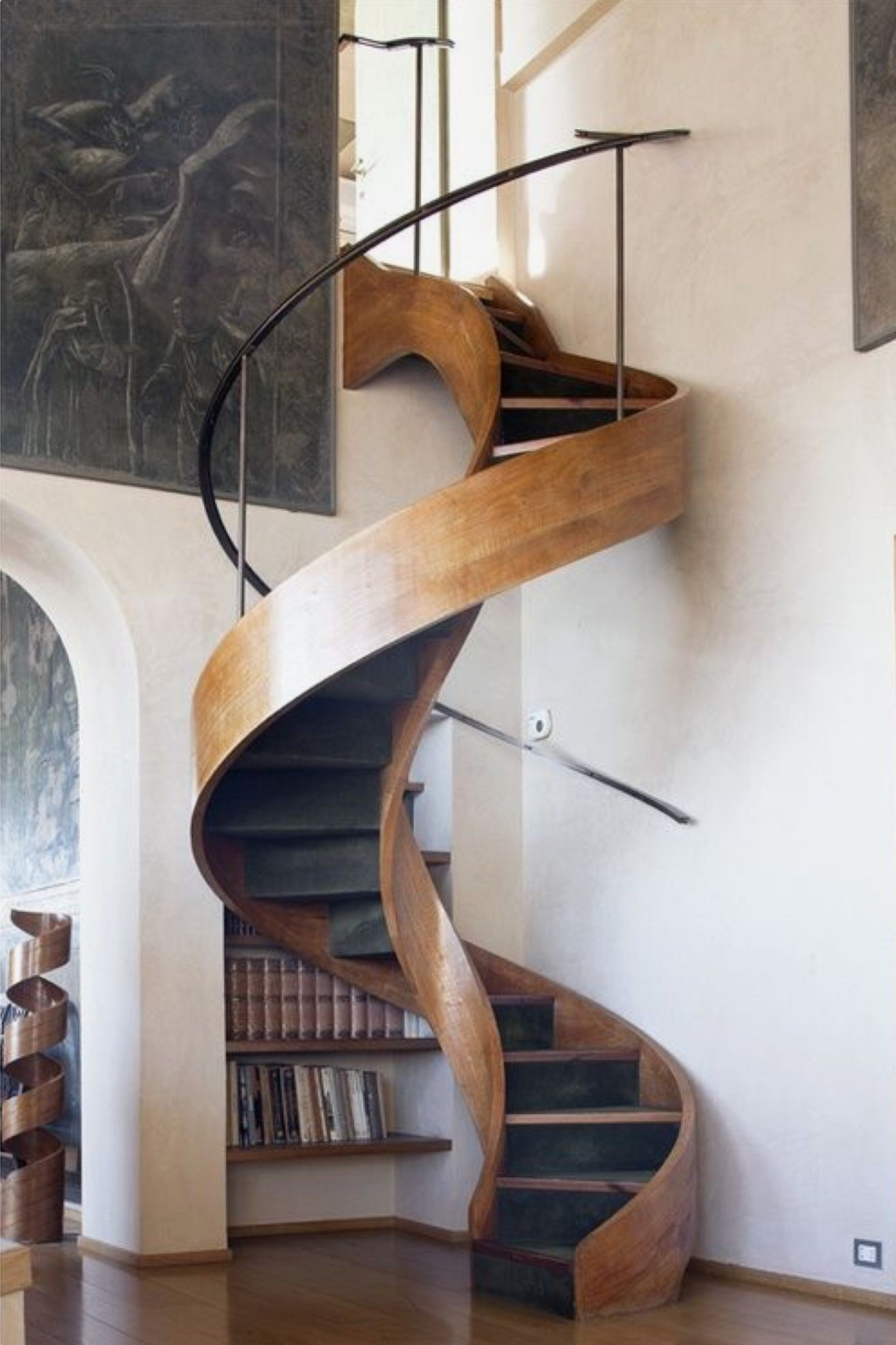 Loft With Stairs For 2020 Ideas On Foter   Stair Designs For Small Areas   Creative   Simple   Steep Stair   Trendy   Living Room