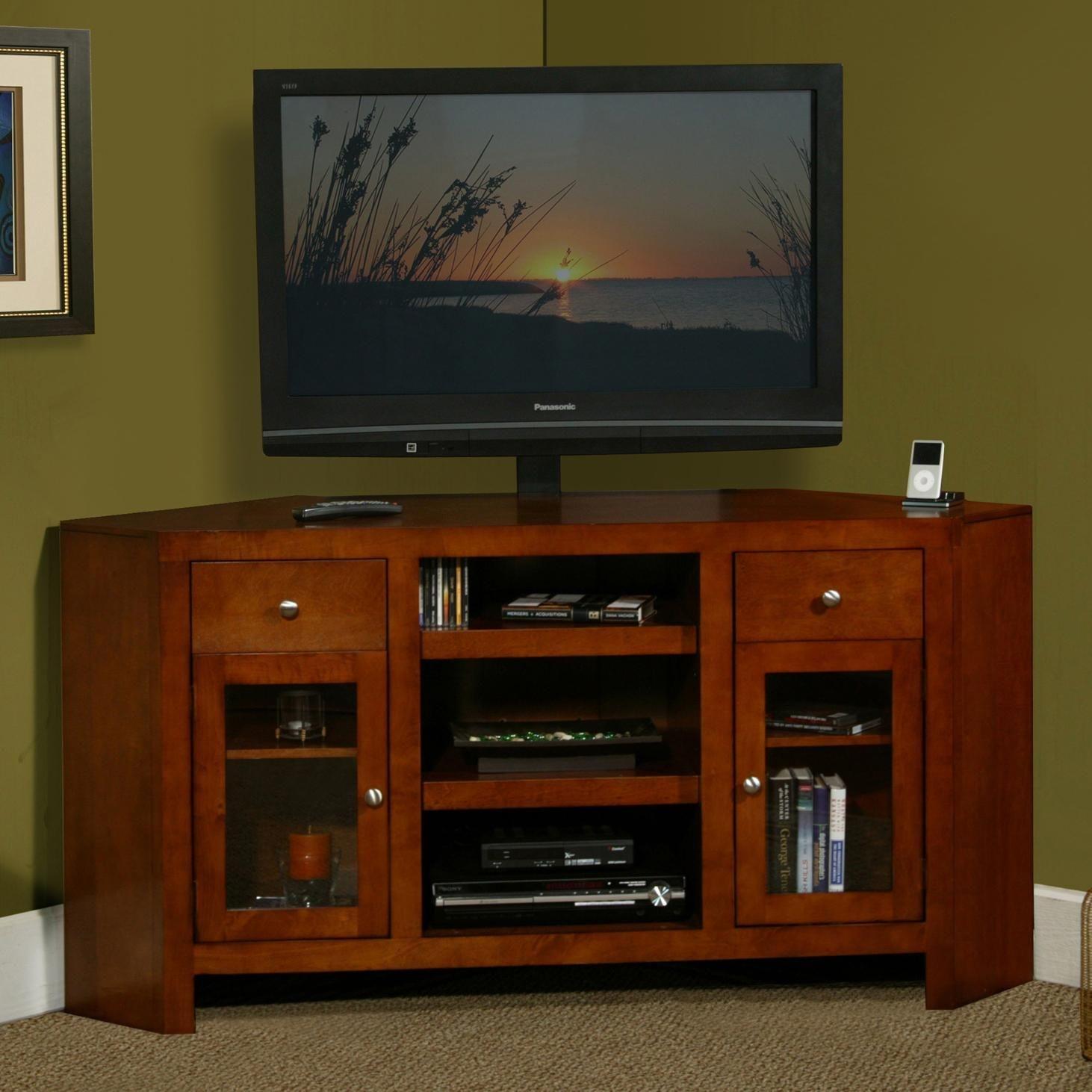 triangle tv stand