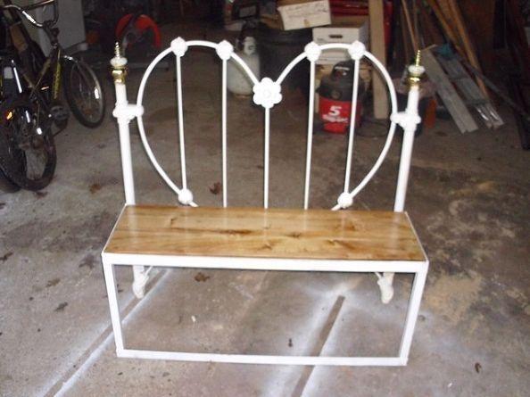 metal bed bench - foter