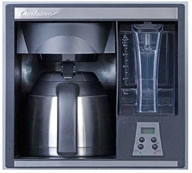 best under cabinet coffee maker space