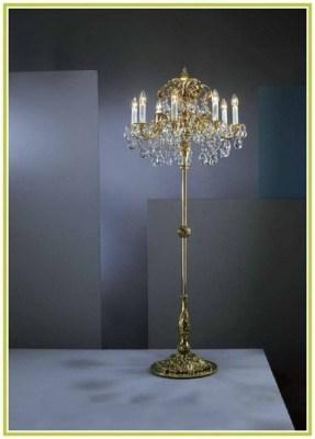 Black Chandelier Floor Lamp
