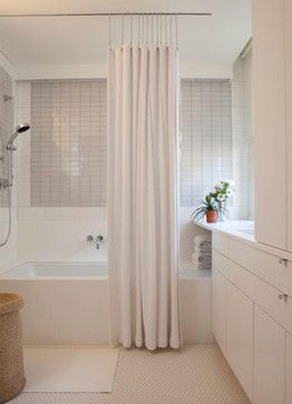 shower curtain rod brackets ideas on